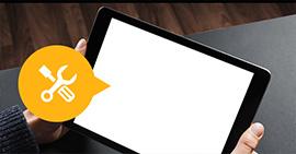 Διορθώστε τη λευκή οθόνη του ipad