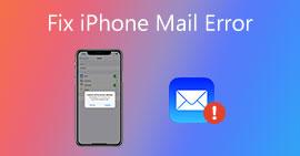 Opravit iPhone Mail Error