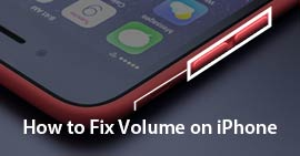 Correggi volume su iPhone