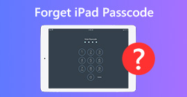 Cosa fare se si dimentica la password dell'iPad