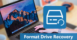 Format drive recovery