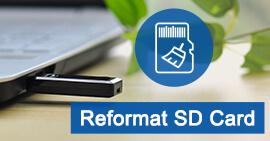 Formatta scheda SD