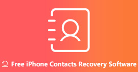 Free iPhone Contacts Recovery