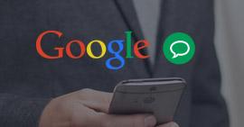 Messaggio di testo di Google