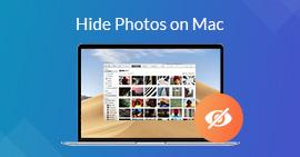 在Mac上隱藏/鎖定照片