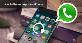 How to Backup Apps on iPhone