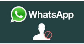 Blocca qualcuno su WhatsApp