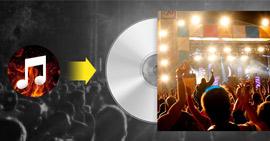 Εγγραφή μουσικής σε CD