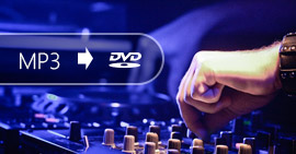 Converti MP3 in DVD