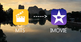 Come convertire MTS in iMovie