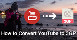 Converti YouTube in 3GP