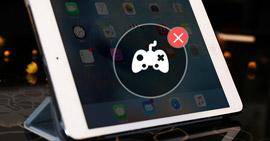 Elimina giochi su iPad