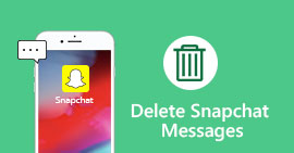 Delete Snapchat Messages
