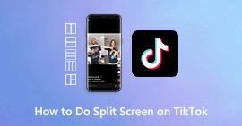 Πώς να κάνετε Split Screen στο TikTok
