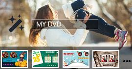 Come modificare il menu DVD