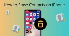 Πώς να διαγράψετε τις επαφές στο iPhone