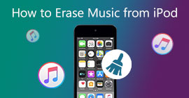 Erase Music from iPod