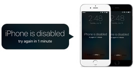 Correggi iPhone disabilitato