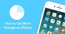 Libera spazio e ottieni più spazio di archiviazione su iPhone
