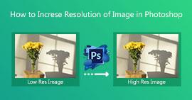 Αυξήστε την ανάλυση εικόνας στο Photoshop