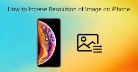 Αλλάξτε την ανάλυση των εικόνων