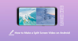 How to Make a Split Screen Video-on Android