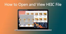 Otevřete a zobrazte soubor HEIC
