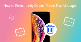 How to Permanently Delete iPhone Text Messages