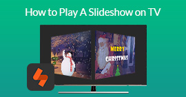 How to Play a Slideshow on TV