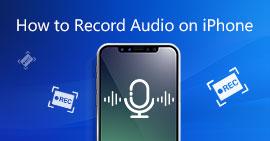 Come registrare audio su iPhone