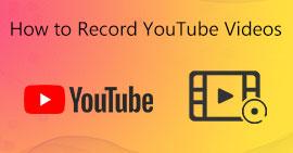 Come registrare video di YouTube