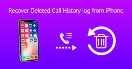 Recupera il registro della cronologia delle chiamate cancellate da iPhone