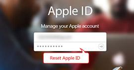Reimposta ID Apple