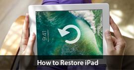 ripristinare iPad
