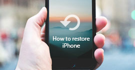 How to Restore an iPhone