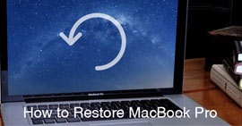 How to Restore MacBook Pro to Factory Settings