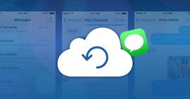 Come ripristinare i messaggi da iCloud