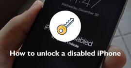 Come sbloccare un iPhone disabilitato