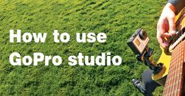 Πώς να χρησιμοποιήσετε το GoPro Studio