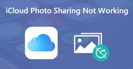 Udostępnianie zdjęć iCloud nie działa