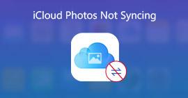 Oprava fotografií iCloud se nesynchronizuje