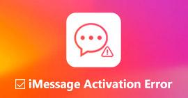 Opravit chybu aktivace iMessage