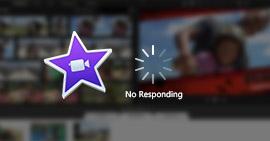 iMovie nie odpowiada