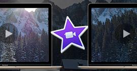 Podzielony ekran iMovie
