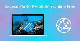 Zvyšte rozlišení fotografií online