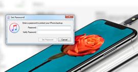 Recupero password di backup per iPhone