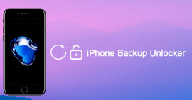 Software di sblocco backup iPhone