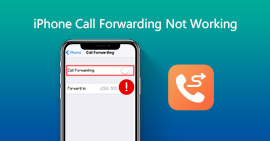 iPhone Call Forwarding not Working