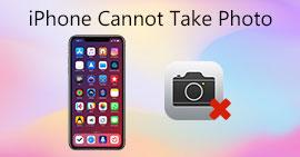 iPhone無法拍照