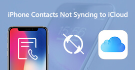 iPhone Contacts Not Syncing to iCloud